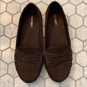 Old Navy brown loafers